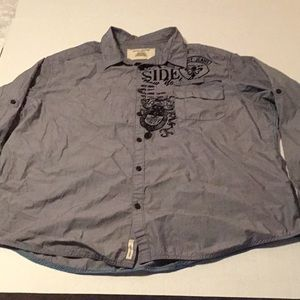 DkNY Jeans men's pre owned  long sleeve shirt